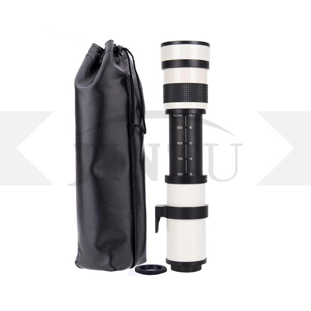 420-800mm F//8.3-16 Telephoto Lens for Fuji film  X-T20  X-Pro1 X-Pro2 X-E2 X-E1