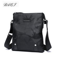 BAQI Brand Men Handbags Oxford Cloth Waterproof High Quality Men Shoulder Bag Crossbody Messenger Bags 2019 Fashion Casual Bag