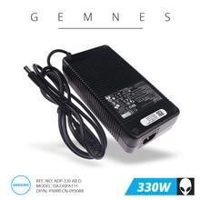330 W adaptateur pour chargeur pc portable pour Dell Alienware M18X R1 R2 R3 17 R1 R4 R5 X51 R2 R3 Y90RR 0Y90RR ADP 330AB D DUE USA 7.4*5.0