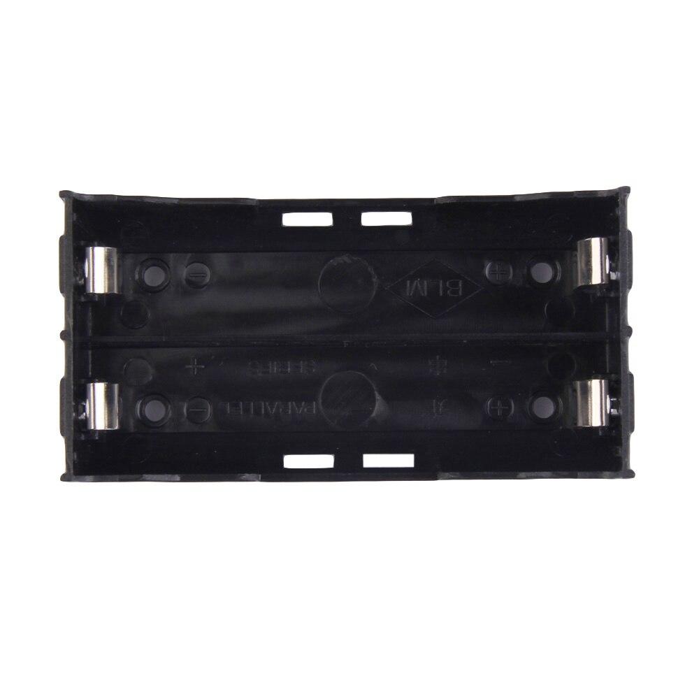2x Battery Box Holder Batteries Case For 18650 In Parallel 3.7V Pole B