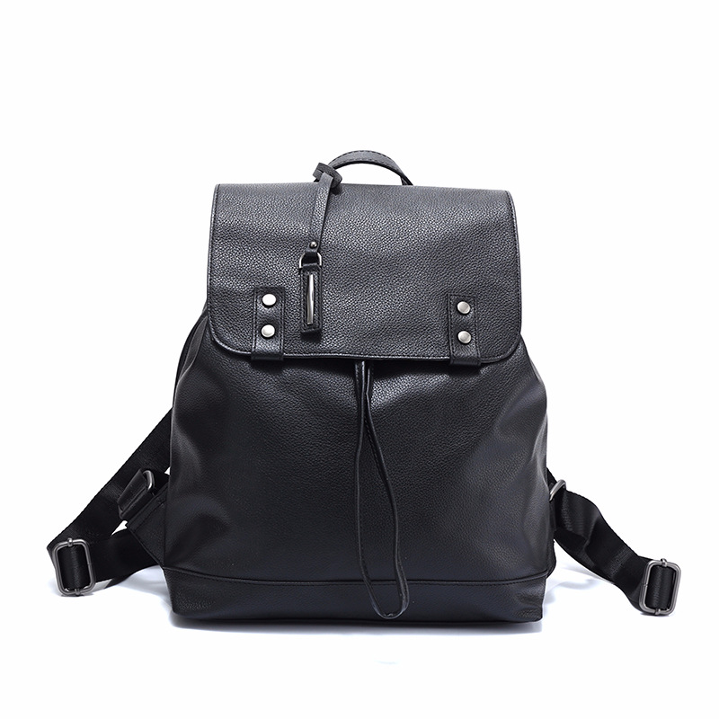 Fashion 100% Real Soft Genuine Leather Women Backpack Female Preppy Style Ladies School Bag Girls Notebook Mochilas Mujer mochilas designer genuine leather bag mochila ciclismo preppy style multifunction men canvas bag fb1125