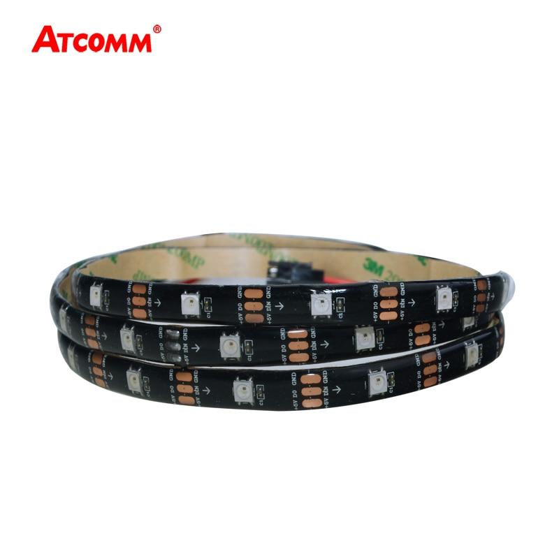 WS2812 LED Strip Light DC 5V 1m 5m Colorful Flexible WS2812B LED Tape Light 30LEDs/m Waterproof IP33 IP65 IP67