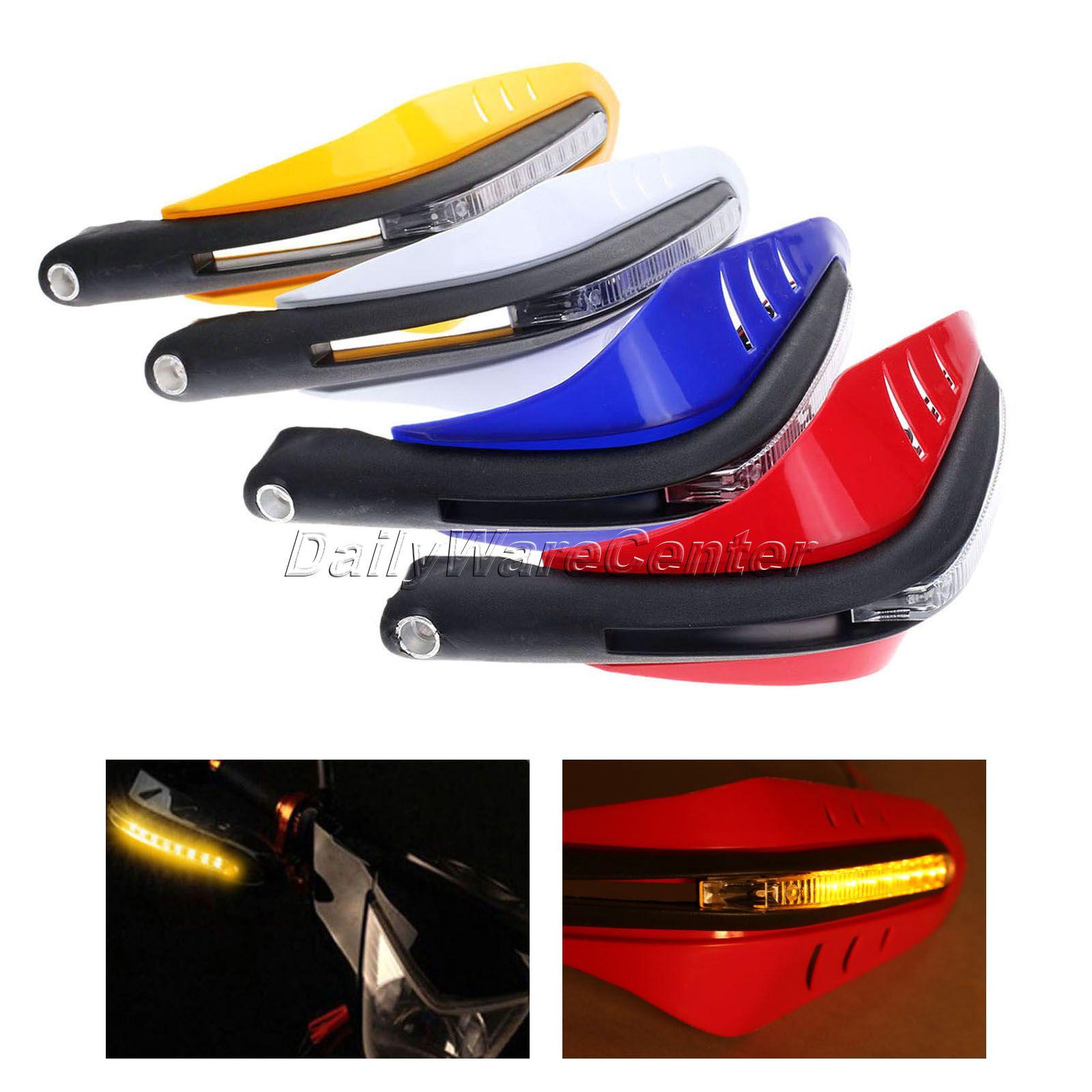 "7//8/"" Motorcycle LED Handguards Hand Guard For Yamaha FZS 1000 FAZER 2000-2005"