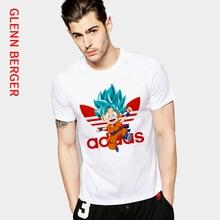 GLENN BERGER Dragon Ball Men T Shirt Fashion Harajuku cute Anime Print Alphabet AD Unisex Tshirt Women Summer Clothing 2019