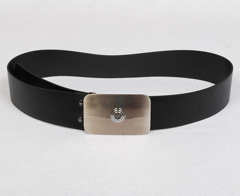 Star Wars Imperial Naval Stormtrooper Officer Black Garbardine Leather Belt Cosplay Prop