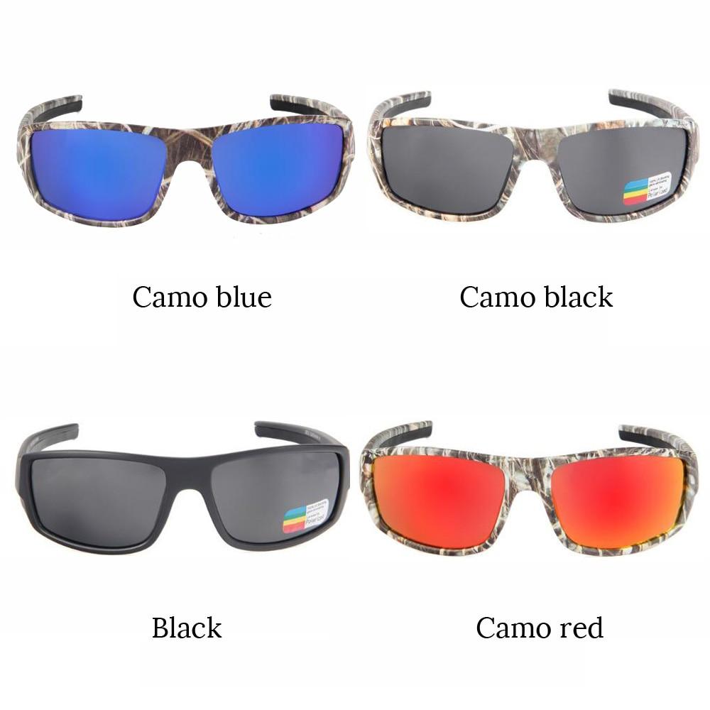 Polarized Cycling Glasses Goggles Driving Fishing Sports Sunglasses Camo UV400
