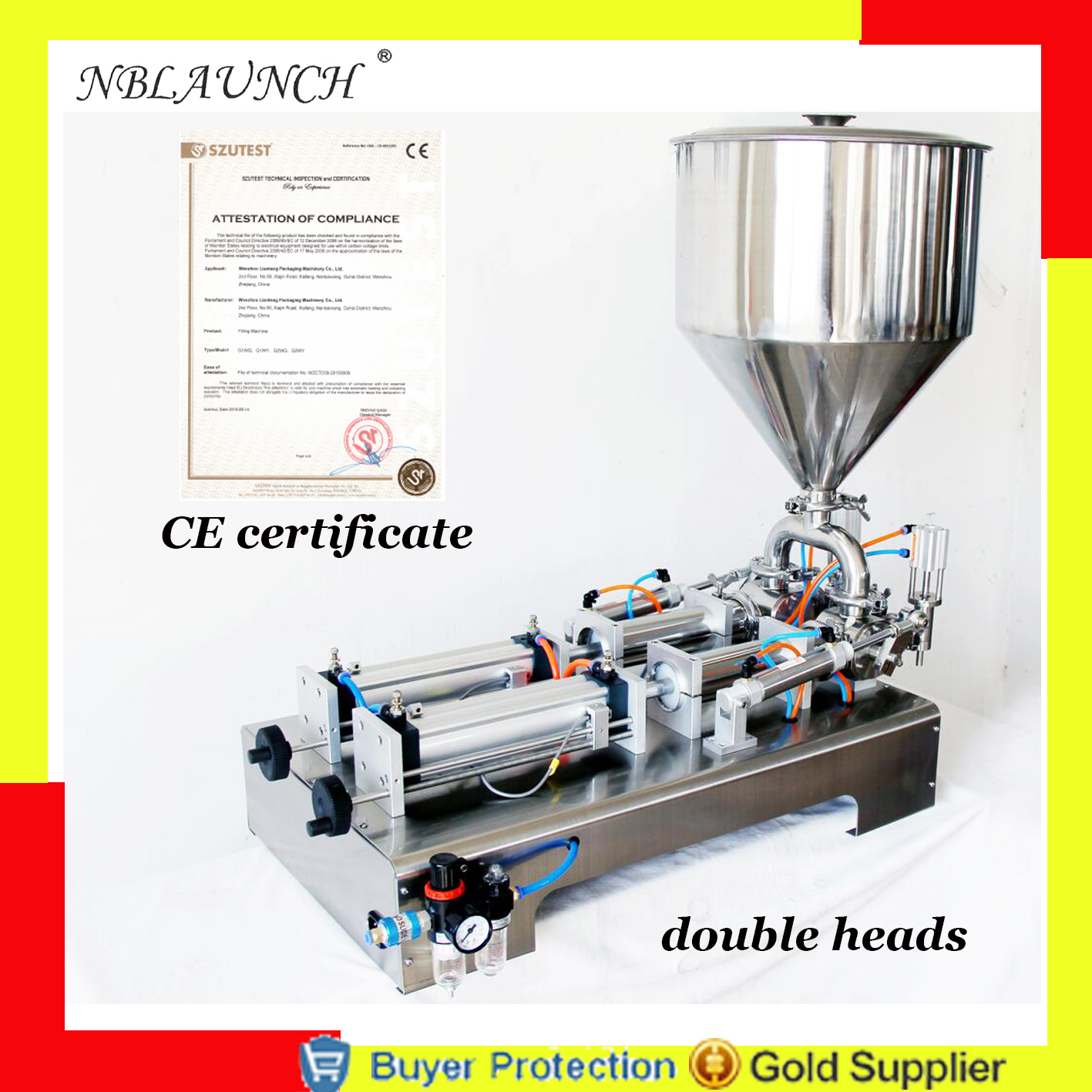 Free Shipping liquid or paste filling machine(0-1000), pneumatic, semi filler, single head or double heads by air power Бутылка