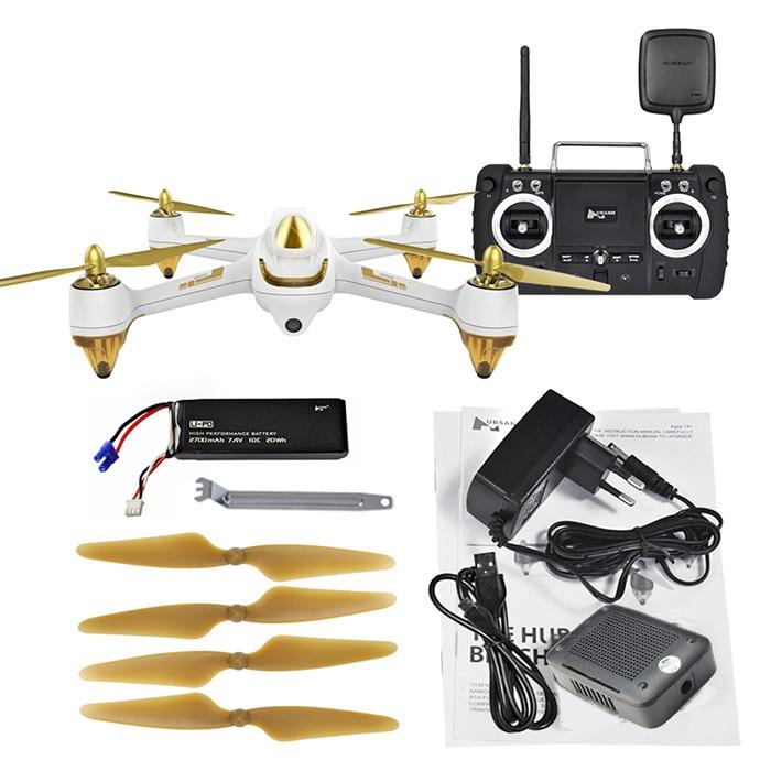 Prix pour Nouveau Arrivent RC Hubsan H501S X4 5.8G FPV 10CH Brushless avec 1080 P HD Caméra GPS RC Quadcopter-Version avancée