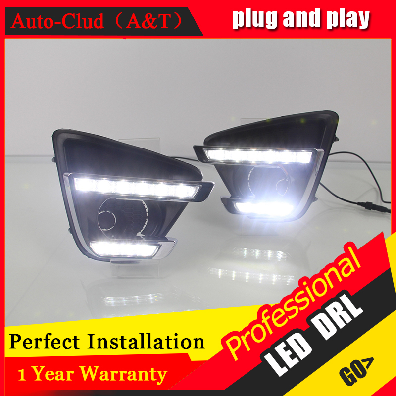 Auto Clud car styling For Mazda CX-5 LED DRL For Mazda CX-5 led fog lamps daytime running light High brightness guide LED DRL