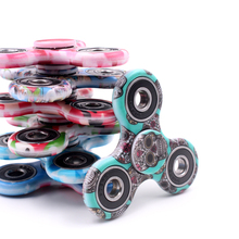 New Camouflage Fidget Spinner High Quality Hand Spinner 8 Style ABS Toys