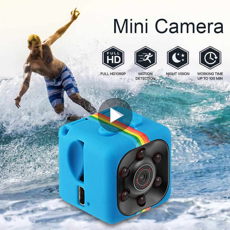 1pc 12MP SQ11 Micro Camera HD 1080P DV Mini Sport Camera Car DVR Full HD DVR Recorder IR night vision loop recording