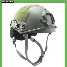 Kevlar NIJ IIIA Tactical Airsoft Bulletproof Helmet Hunting Fast Ballistic Helmet
