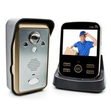 Kdb302a двери контроля доступа видеодомофон беспроводной dual-полосный аудио ночного видения от вскрытия системы домашней безопасности