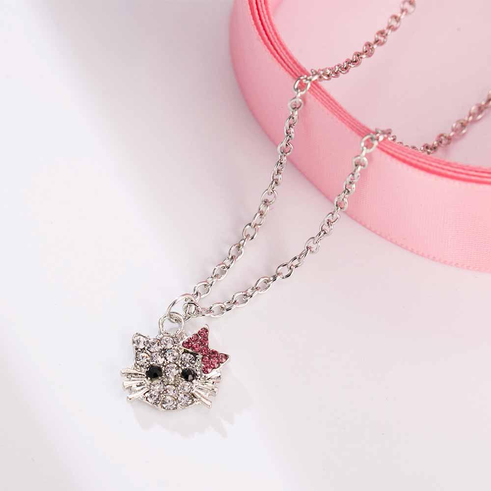 Hello Kitty Rhinestone Necklace