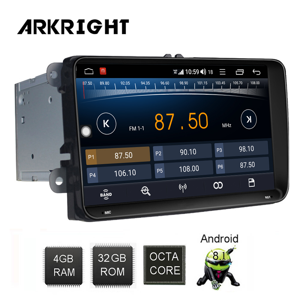 ARKRIGHT 9 39 39 4 32GB 2 din Car Radio Audio Stereo for Volkswagen VW Seat skoda Passat B6 Android GPS Navigation Multimedia Player in Car Multimedia Player from Automobiles amp Motorcycles