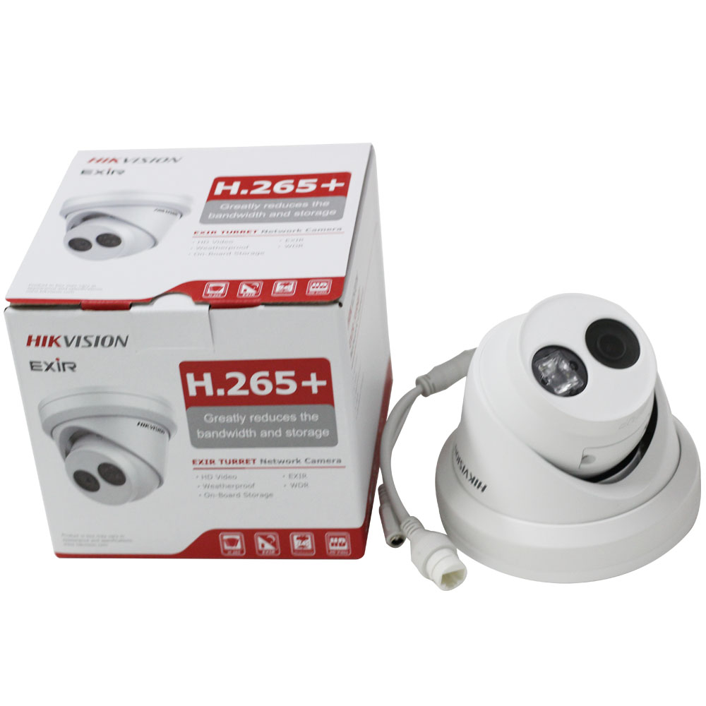 Hikvision Turret CCTV IP Camera DS-2CD2343G0-I 4MP IR Fixed Network Security Night Version POE Replace DS-2CD2342WD-I 4pcs/lot