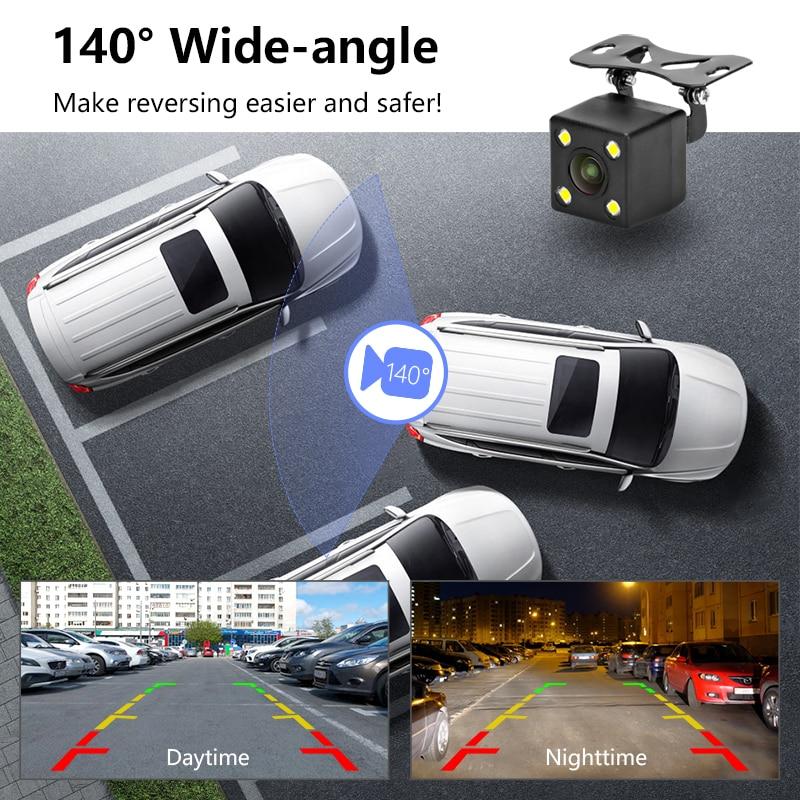 """Jansite 4,3"""" automonitori TFT LCD auto tahavaatekaamera varundamine  3"""