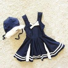 Dollplus New Children's Swimsuit Baby Swimwear For Girls Kids Bikini Dress Beach One Piece Toddler Girl Bathing Swimming Suit цена