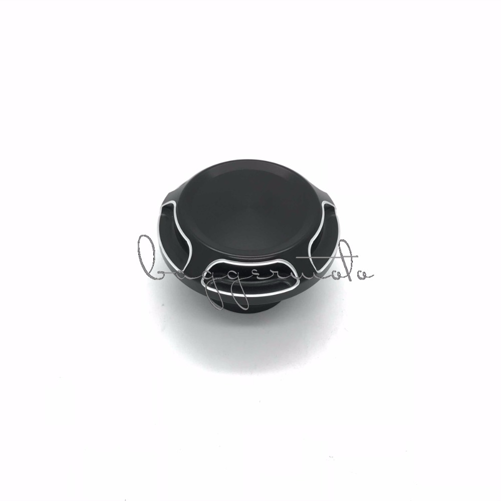 Motorcycle Black Aluminum Fuel Gas Tank Oil Cap for Harley Sportster 1200 XL883 48 1996-Up brand new motorcycle cnc rc fuel tank gas cap fit for 1996 2014 harley sportster dyna touring softtail