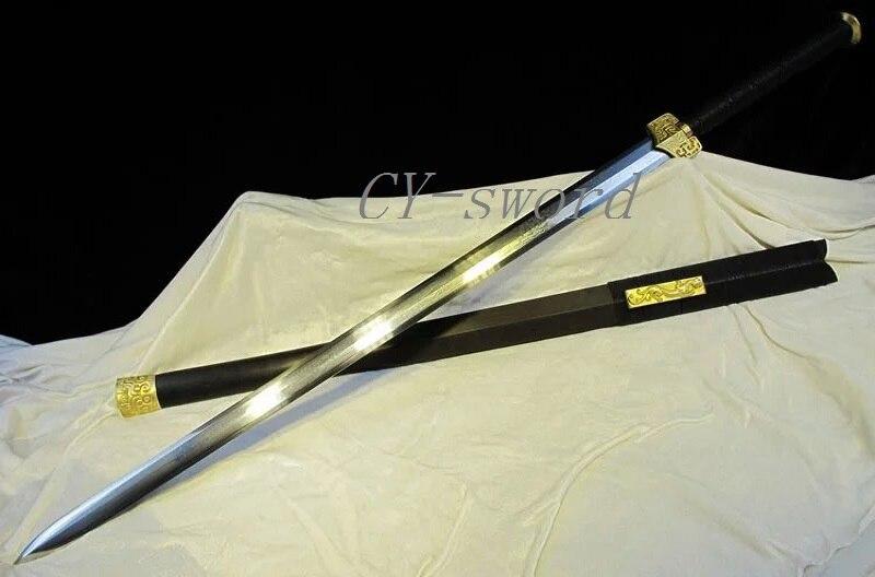 Handgeschmiedeter Pucker gefaltete Stahlklinge Chinesisches Longquan - Wohnkultur - Foto 1