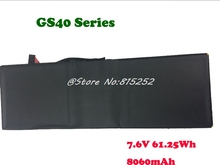 Battery For MSI GS43VR BTY-M47 6RE GS40 6QE GS43 8060mAh 61.25Wh / GS63VR GS73VR 6RF MS-16K4 BTY-M6J 11.1V 64.98Wh New цена