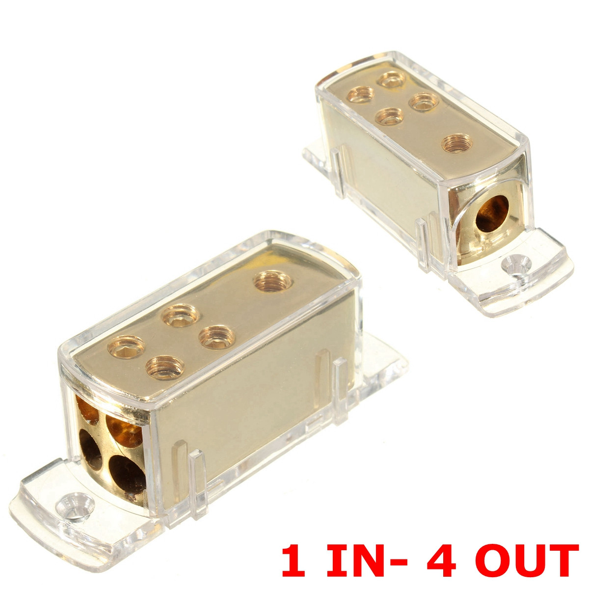 POSSBAY 30A/60A/80A/100A/150A Auto Audio 1 In 3 Manieren Out ...