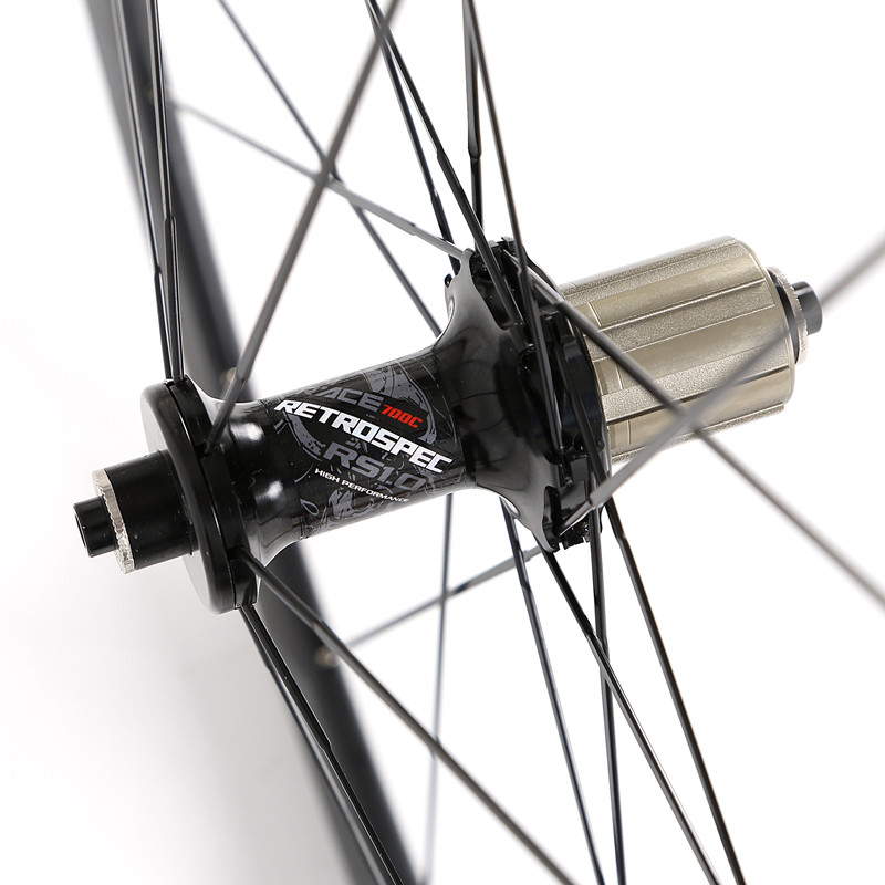 700C C6 0 super light aluminum road bicycle sealed bearing wheelset flat spokes racing 40mm rims in Bicycle Wheel from Sports Entertainment
