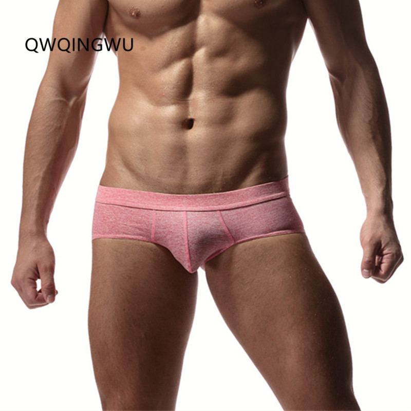 Men's Underwear Pouch Boxer Shorts Comfortable Men's Boxer Shorts Cotton Sexy Male Underwear Cueca Low Waist Underpants Boxers