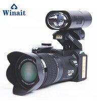 Winait Polo 33 мега пикселей цифровая видеокамера, Full hd 1080 P дешевый цифровой основной Настольный Штатив камера Бесплатная доставка