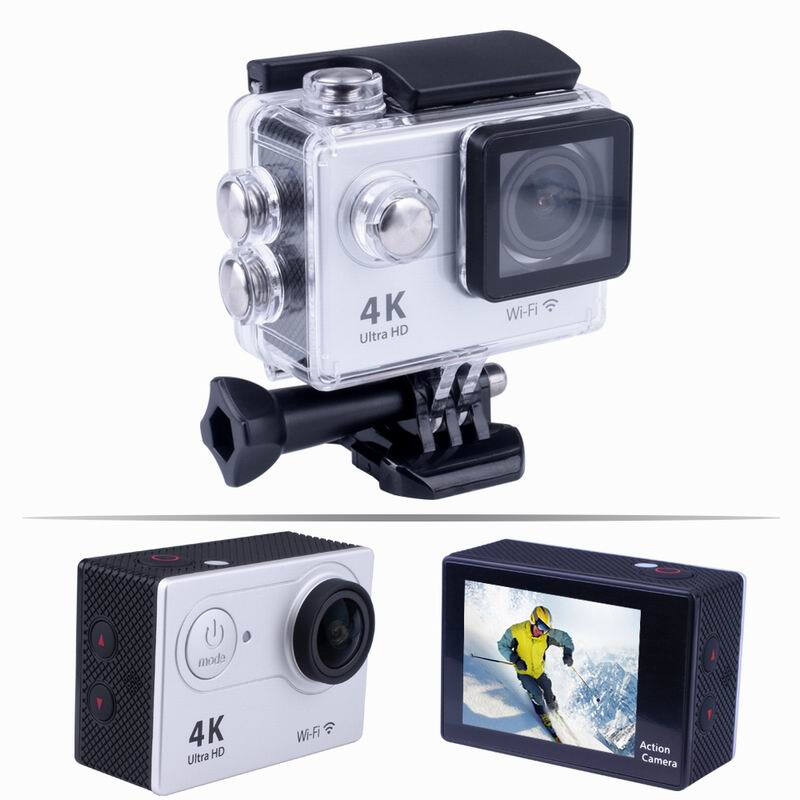 4K 1080P Sport Action Video Camera Mini Camcorder Wifi Cam Waterproof Full HD Remote Control CamGopro go pro Xiao Mi Yi style amk7000s camera 1080p hd action digital camera 2 0 lcd 4k wifi sport dv video photo camera 20mp waterproof 40m mini camcorder