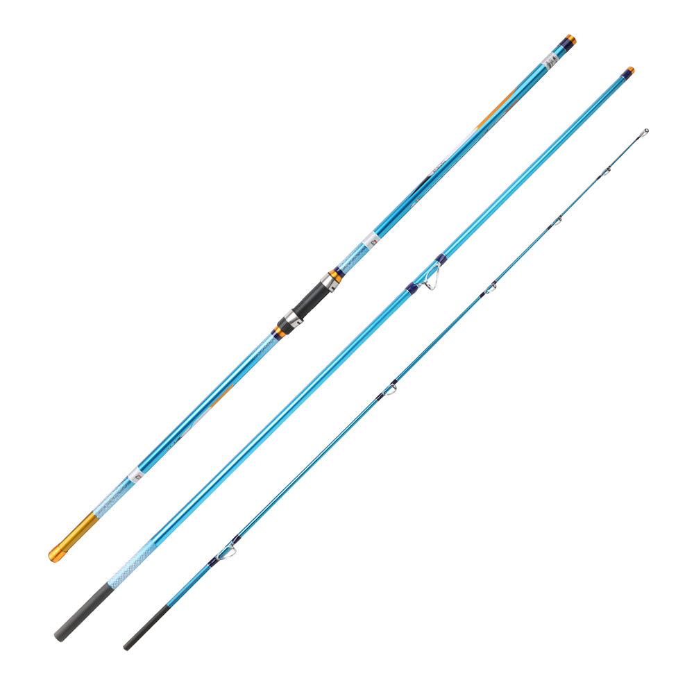 2019 4 2m 100 200g Carbon Surfcasting Rod Surf Fishing Rod
