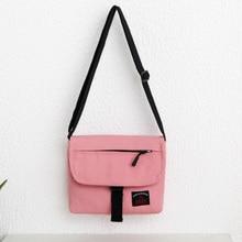 2018 New Women Canvas Crossbody Bags Casual Tote Female Shoulder Sack Summer Holiday Beach Messenger Handbag bolsos mujer