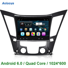 10.2 pulgadas Android 6.0 COCHES reproductor de DVD GPS navi PARA Hyundai Sonata I40 I45 I50 YF 2011 2012 2013 2014 2015 WIFI 3G RDS MP3