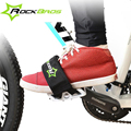 RockBros Bicycle Fixed Gear Cycling Pedals Bands Feet Set With Straps Beam Foot Cycling Bike Anti-slip Bicycle Pedals