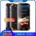 Обновление 3 ГБ + 32 ГБ DOOGEE S40 MTK6739 четырехъядерный Android 9,0 4G сеть прочный мобильный телефон IP68 5,5 дюйма дисплей 4650 мАч 8.0MP NFC