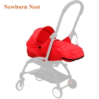 2019 Newborn Birth Nest Baby Stroller Sleeping Basket 0 6M Infants Fit Yoyo Yoya Vovo Yuyu Prams Winter Stroller Accessories Bag