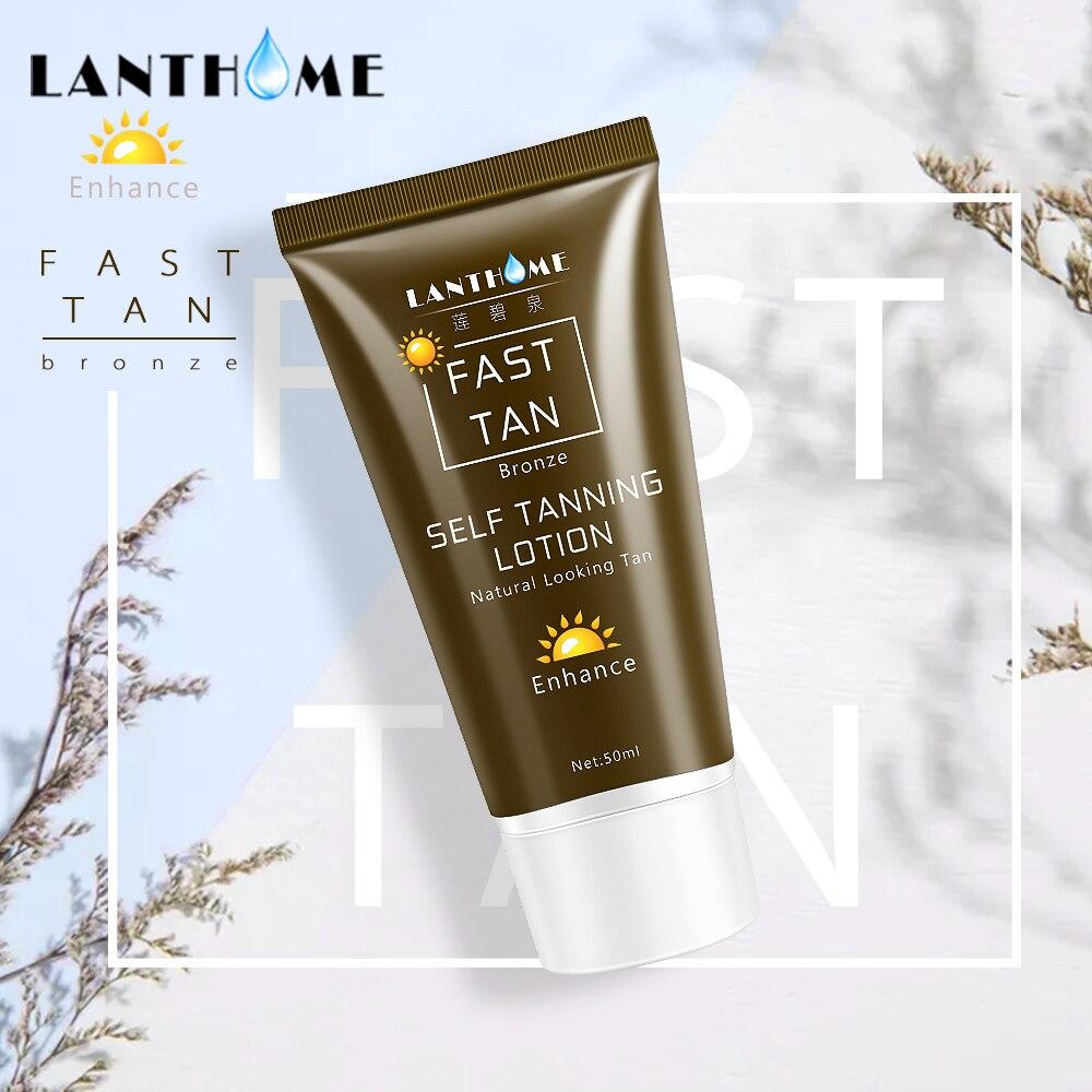 Self Tan Mitt For Bronzer Face Body Solarium Cream For Day Tanning Sun Block Bronzer Body Foundation Tanner Lotion Dropshipping