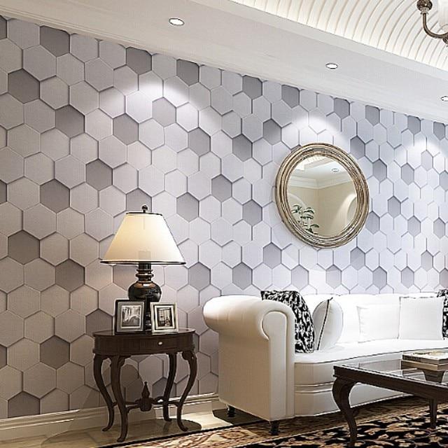 Beibehang Hohe Qualität luxus realistische PVC vinyl 3d wallpaper ...