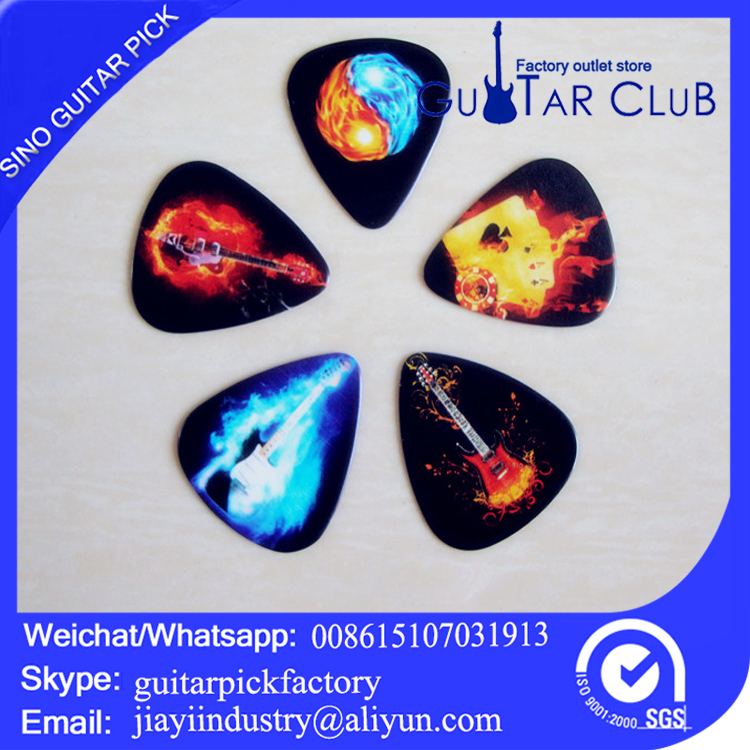 Custom custom promotional guitar picks personality