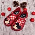 2016 Mickey & Minnie Mini Melissa Jelly Shoes Baby Boys Girls Sandals Soft Comfort Toddler Girl Sandals Beach Sandals Kids
