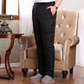 2017 high waist to keep warm trousers male money Cold outside wear pants down