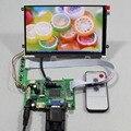 HDMI VGA 2AV ЖК плата контроллера с 7 inch HV070WS1 105 1024x600 IPS жк-панель