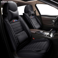 kokololee car seat cover For Porsche Cayenne panamera Macan Boxster auto accessories car seats protector Automobiles Seat Covers
