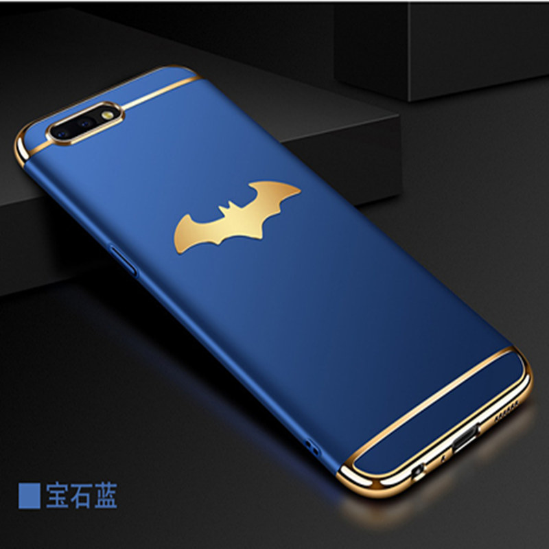 3D Batman 3 In 1 Hard PC Case For OPPO A59 A59S A71 A77 A83 A79 F7 Phone Case For OPPO R7 R9 R9S R11 R11S Plus R15 Cover