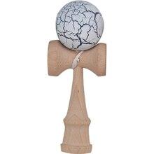 Трещины Краски Kendama Бал умелые жонглирование игры мяч Японская Традиционная игрушка шары Развивающие игрушки для взрослых подарок для ребенка