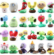Plants VS Zombies Plush Dolls Toy Mini Zombie Plant Peluche Soft Toys Peashooter Sunflower Cherry Bomb Soft Plush Doll Toy Bean