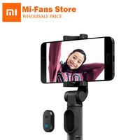 Original Xiaomi Handheld Mini Foldable Tripod 3 In 1 Self Portrait Monopod Phone Selfie Stick Bluetooth