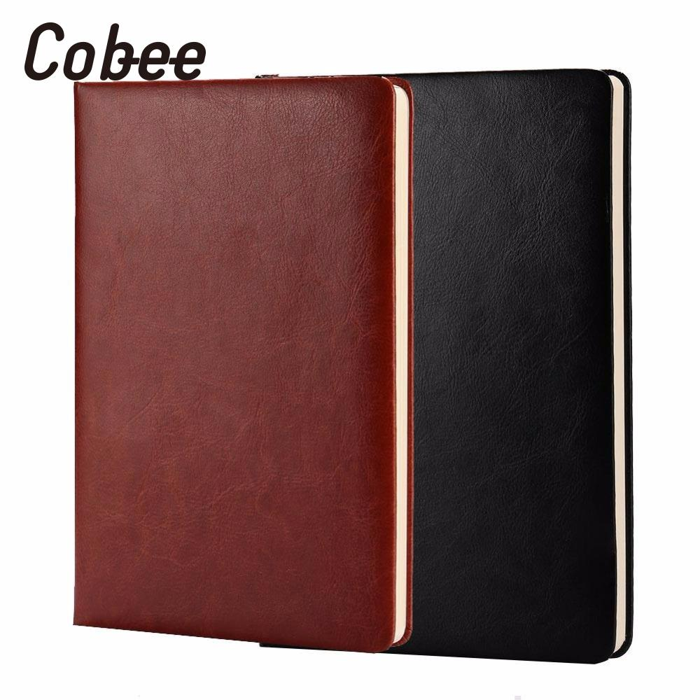 Cobee PU Leather Notebook Writing Paper Pocket Journal Stationary Composition Gift Diary Notepad Simple and elegant