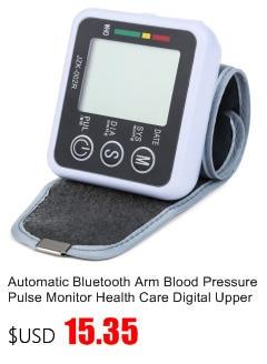 Gustala Automatic Digital Sphygmomanometer Wrist Cuff Arm Blood Pressure Monitor Meter Gauge Measure Portable Bracelet Device 6