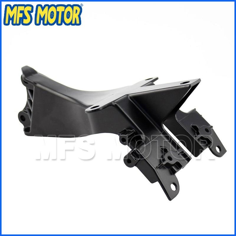 Livraison gratuite pièces de moto tête carénage Avant upper carénage restez supports pour Kawasaki ZX14R 2006 2007 2008 2009 2010 2011 dans Fixations de phares de Automobiles et Motos